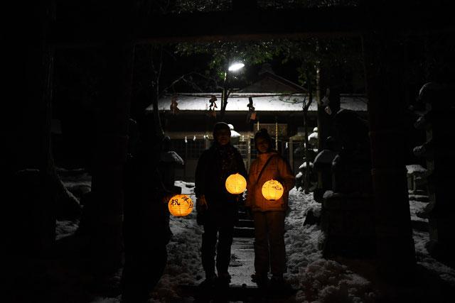 Night Hiker 提灯ナイトdeお湯詣で